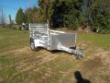 548 ALUMA ATV TRAILER UTILITY CARGO W SIDE RAILS