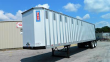 PITTS 42X96 TANDEM AXLE ALUMINUM CHIP TRAILER - SPRING, FIXED AXLE