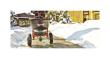 2018 AGRI-FAB 130 LB. SALT PUSH SPREADER