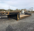1994 TRAIL KING 48X102 DOUBLE DROP TRAILER - 30FT WELL, WOOD FLOOR, TANDEM AXLE, 25 TON