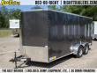 7X16 CONTINENTAL CARGO | ENCLOSED TRAILER [CHARCOAL]