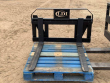 2019 DOUBLE L MANUFACTURING EURO MOUNT PALLET FORK