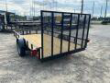DOWN 2 EARTH TRAILERS 76X12UT UTILITY TRAILER FLAT DECK STOCK# DTE7612FF29-78909
