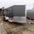 LEGEND TRAILERS DELUXE V-NOSE 7' X 19' ALUMINUM ENCLOSED CARGO TRAILER