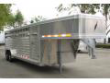 FEATHERLITE ALL ALUMINUM STOCK TRAILER