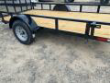 DOWN 2 EARTH TRAILERS 76X12UT UTILITY TRAILER FLAT DECK STOCK# DTE7612FF29-79427