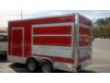 RED 7X14 TA MARQUEE CONCESSION TRAILER