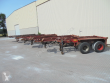 1988 KRONE 5 X 20FT FULL STEEL ON STOCK