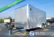 2021 CROSS TRAILERS 7'X14' CARGO TRAILER WITH REAR RAMP DOOR