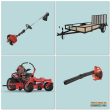 2021 GRAVELY MOWER PACKAGE GHDKH52-004