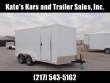 """*NEW* PACE 7X14' 6"""" ADDITIONAL HEIGHT RAMP DOOR LED LIGHTING ENCLOSED CARGO TRAILER"""