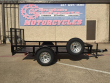 2017 STREME 5X10 UTILITY WITH LOAD GATE