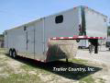 8.5X34 CUSTOM GOOSENECK ENCLOSED TRAILER-STAGE 2 RACER