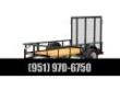 2020 BIG TEX TRAILERS 30SA-10 UTILITY TRAILER STOCK# 59238