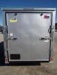 6X12 RAMP DOOR SILVER ENCLOSED CARGO TRAILER STOCK# ECCW612-66919