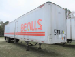 GREAT DANE 53 FT DRY VAN TRAILER - ROLL UP DOOR, SPRING, SPREAD AXLE