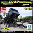 2019 LOAD RUNNER DUMP TRAILER D83-14T7-48S