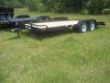 "BIG TEX 83""X16' 7000# CAR HAULER WITH RAMPS8"