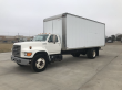 1996 FORD F-SERIES BOX TRUCK - STRAIGHT TRUCK, MOVING V