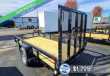 2021 SURE-TRAC TRAILERS 5'X10' TUBE TOP UTILITY TRAILER