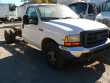 1999 FORD F350 CAB CHASSIS, SALVAGE TRUCK
