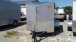 2020 5X8 SA CARGO MATE EHW58SA ENCLOSED CARGO TRAILER - RAMP DOOR - SLANT V-NOSE (GVW: 2990)