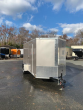 DIAMOND CARGO 6' X 12' BEIGE ENCLOSED TRAILER W/ RAMP