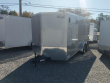 2020 CONTINENTAL CARGO NS716TA2, 7X16 FT. ENCLOSED TRAILER, TANDEM AXLE, 7K RATED