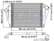 FORD LTLA9000 CHARGE AIR COOLERS