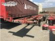 "CONTAINER TRANSPORTER/ SWAP BODY SEMI-TRAILER VAN HOOL VANHOOL 3B0070 40"" CONTAINERCHASSIS (75140-317)"