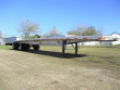 RAVENS 48X102 ALUMINUM FLATBED TRAILER - AIR RIDE, FIXED SPREAD AXLE