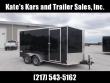 2020 PACE AMERICAN EXTRA TALL 7K GVWR 7X14 CARGO TRAILER