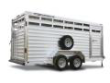 FEATHERLITE BUMPERPULL LIVESTOCK TRAILER