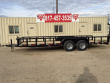 2018 LONESTAR 20 FT. PIPETOP UTILITY TRAILER