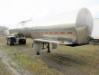 BRENNER 42' STAINLESS STEEL TANKER 5750 GALLON TANDEM AXLE STAINLESS STEEL FOOD GRADE TANKER TRAILER - SPRING, FIXED AXLE