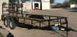 2020 TOP HAT TRAILERS 83X16 EA T/A UTILITY TRAILER