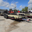 """LOAD TRAIL 83"""" X 20' OPEN CAR HAULER WITH 5200# AXLES"""