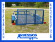 5X10 ANDERSON UTILITY TRAILER METAL DECK