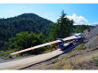 FLATBED SEMI-TRAILER FOR TRANSPORTATION OF TIMBER OZGUL 4 AXLE EXTENDABLE PLATFORM TRAILER
