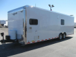 ORDERS ONLY 28' MILLENNIUM AUTO MASTER TOY HAULER RED CABINETS