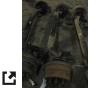 1997 FORD F5HT 3010DA AXLE ASSEMBLY, FRONT (STEER)