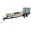 2019 CARRY-ON 6X16GW2BRK TREATED WOOD UTILITY TRAILER