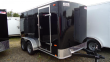 2020 PACE AMERICAN 6X12 OB TE2 RAMP BLACK ENCLOSED CARGO TRAILER