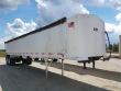 2013 TRAVIS 39 FT FRAMELESS END DUMP TRAILER - TANDEM AXLE, ALUMINUM, AIR RIDE