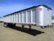 TRAILSTAR 40 FT FRAMELESS END DUMP TRAILER - TANDEM AXLE, ALUMINUM, AIR RIDE