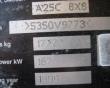 1996 VOLVO A25C
