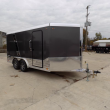 LEGEND DELUXE V-NOSE 8' X 17' ENCLOSED CARGO TRAILER - DOWN & PAYMENTS FROM W.A.C