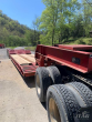 2001 WITZCO 48X102 CHALLENGER LOWBOY TRAILER - 50 TON, 22FT WELL, HYDRAULIC DETACH, GROUND BEARING, PONY MOTOR, TRI-AXLE