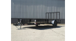 2022 H&H 82X14 RS STEEL UTILITY TRAILER W/ SIDE LOAD
