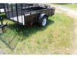 CARRY-ON 5X10 SSG UTILITY TRAILER STOCK# 45285CO